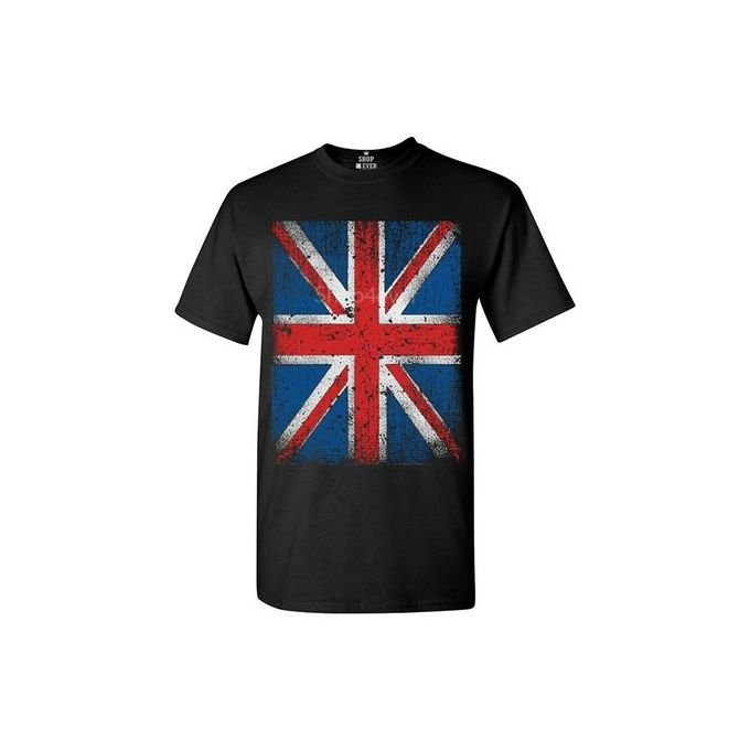 3640aaa56 Funny T Shirt Men's Fashion T-shirt Union Jack T-shirt British Flag Shirts
