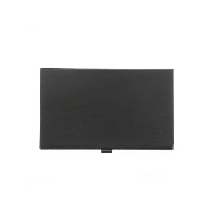 Slim Mini Memory Card Storage Holder Box Protector Metal Case 2xTF 2xSD Black - Intl