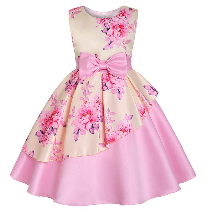 581e718849ef5 Flower Wedding Toddler Formal Bridesmaid Holiday Dresses