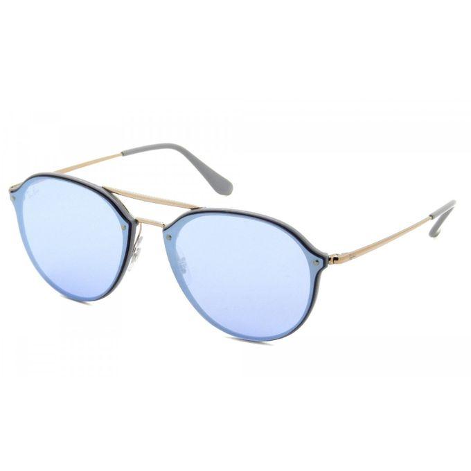 92a641871ff ... Sunglasses Ray-Ban Blaze Double Bridge RB4292N 6326 1U 62-14 Violet  Large