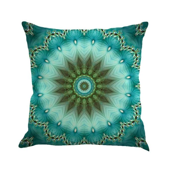Bohemian Style Colorful Throw Pillow Cover Cushion Cover Home Decoration,45 X 45cm ,Pillow Inner Is Not Included –  مصر