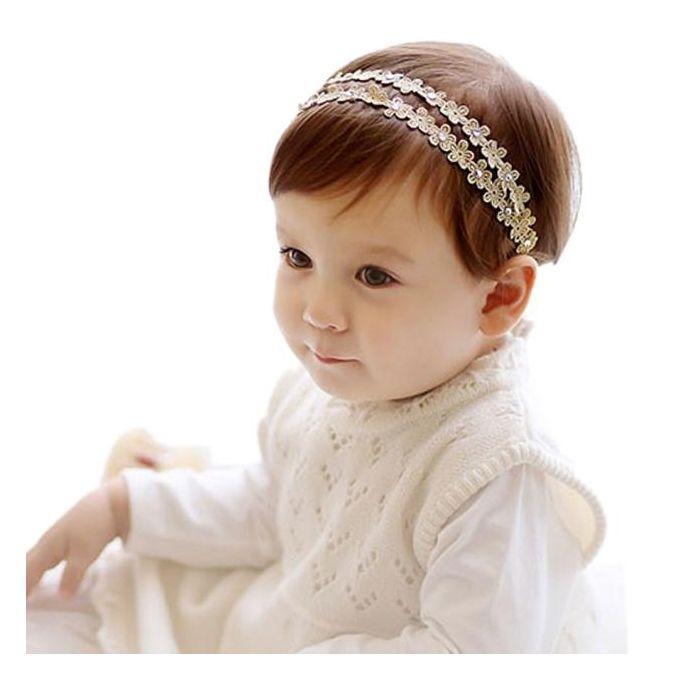 Rhinestone Headband Hairband Baby Girls Flowers Headbands Hair Accessories GD For Baby