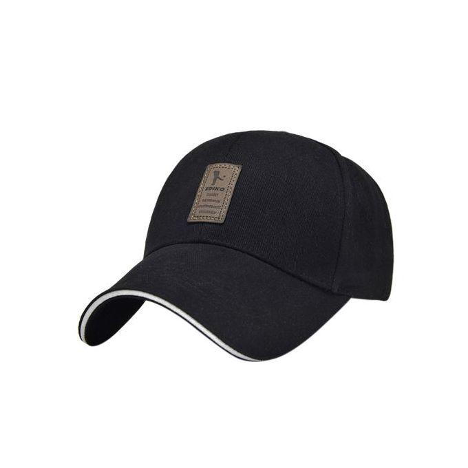 Summer Outdoor Men s Casual Cap Cotton Baseball Cap Fashion Sport Cap  Sunshade Cap - Black c1933ec434d