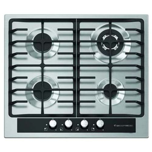 S603gc Built In Stainless Steel Hob - 4 Burners - 60 Cm