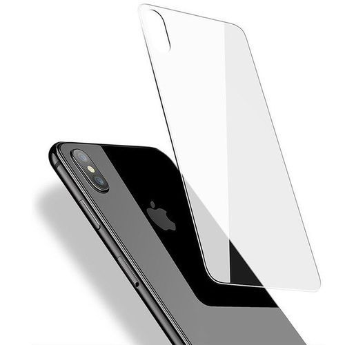 new product ff1a3 34260 Iphone X Back Tempered Glass Screen Protector - Clear