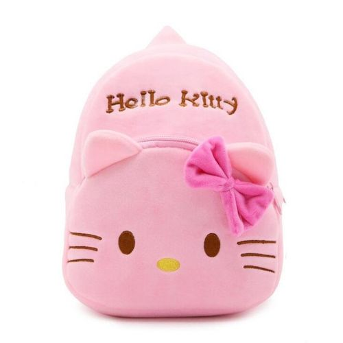 Allwin Korean Fashion Lovely Cute Children Girls Plush School Backpack Bag  -pink 3851d76a6410a