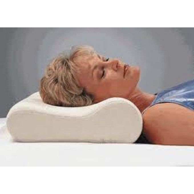 Medical Neck Pillow – Off White  –  مصر