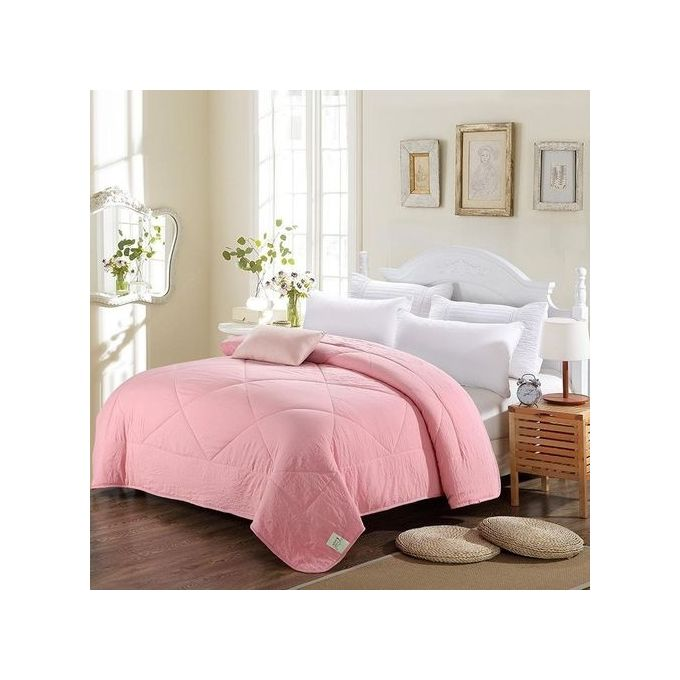 Honana WX- 02 Air Conditioning Cool Quilt Solid Color Washing Cotton Bedding Bedspread Summer Quilt –  مصر