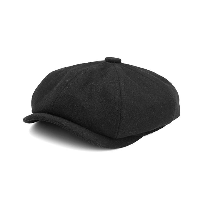 9cee34ba30b Men Visor Woolen Blending Newsboy Beret Caps Outdoor Casual Winter Cabbie  Ivy Flat Hat