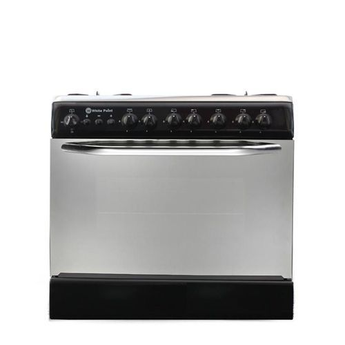 8060 Gas Cooker With Fan - 5 Burners - Black