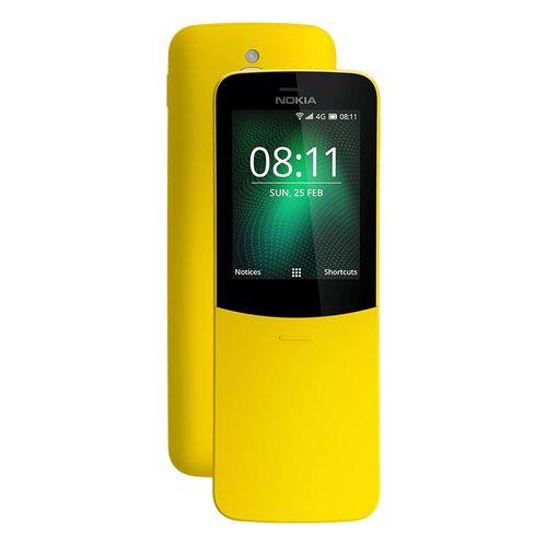 8110 4G - 2 4-inch Dual SIM 4G Mobile Phone - Yellow