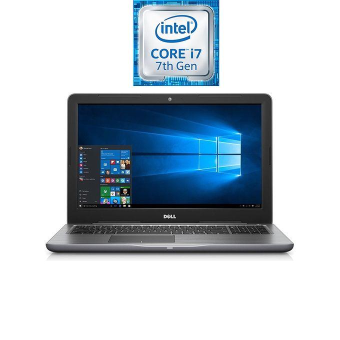 Inspiron 15-5567 Laptop - Intel Core i7 - 8GB RAM - 2TB HDD - 4GB GPU - 15.6 HD - Ubuntu - Grey