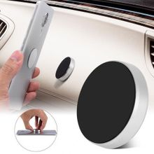 98ee793592208 Mini Round Mount Holder Car Support For Mobile Phone One-hand Operate