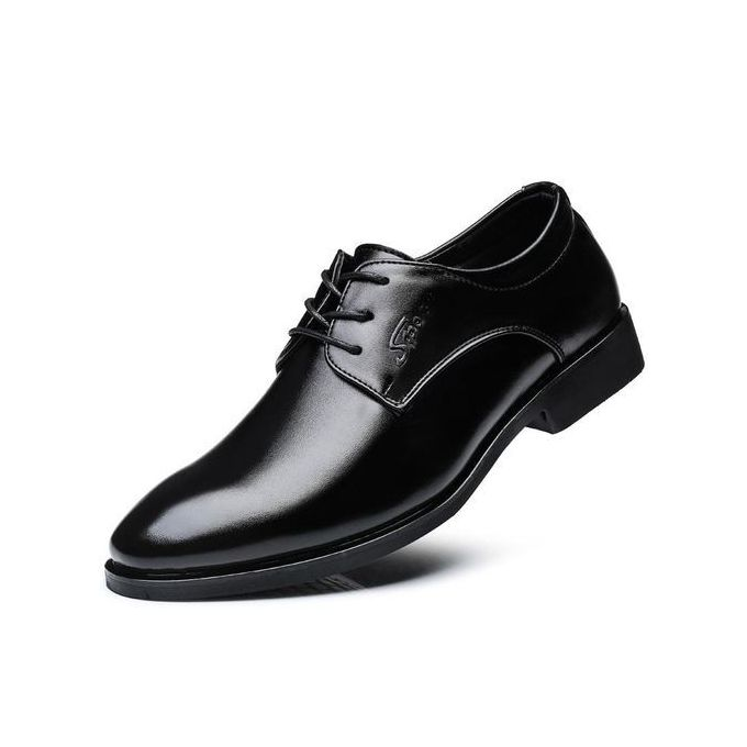 9086d43d370 Sale on Men s Modern Pointed Toe Oxford Lace Up Formal Dress Shoes ...