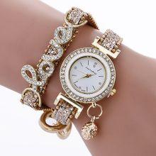96ca6c431dfe3 AI Fashion Women Girls Analog Quartz Wristwatch Ladies Dress Bracelet  Watches