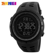 bf6d8836f Skmei Luxury Brand Mens Sports Watches Dive 50m Digital LED Watch Men  Fashion Casual Electronics Wristwatches