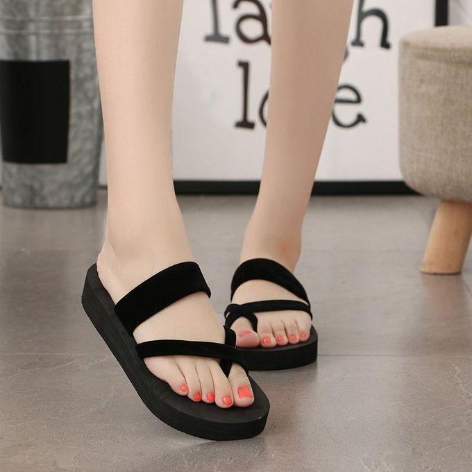 dd6706c0e Women Flat Beach Flip-flops Summer Antiskid Cozy Slippers Fashion Sandals  Shoes-EU