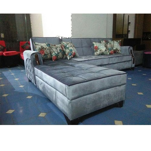 L- Shape Sofa - 2 X 3 M - Grey