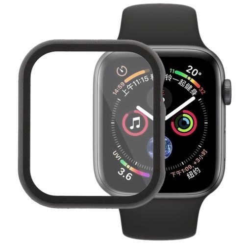 buy popular 10be3 580b8 Metal Front Frame Protective Case For Apple Watch Series 4 44mm (Black)