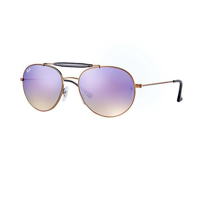 c6295cf5ca7604 Sale on Ray-Ban Copper RB3540 198-7X Shiny Bronze Lilac Gradient ...