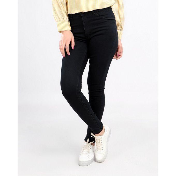 597024de0 بنطلون جينز سادة - أسود - Jumia مصر