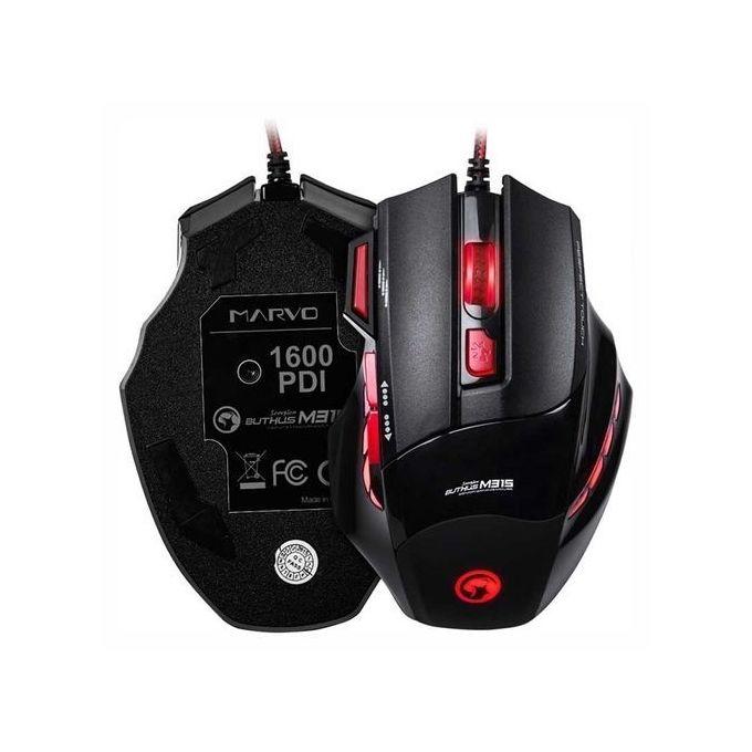 Scorpion Senior Gaming Mouse + Anti Slipping Mouse Pad