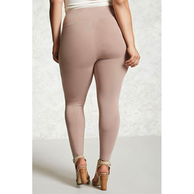 Plus Size High-Waist Leggings