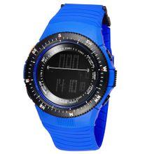 2f6abadddfb50 سينوك كول مقاومة الماء الرقمية الرياضة ساعة اليد للرجال النساء الثانية  المنطقة الزمنية عرض الوقت الأزرق