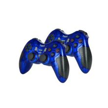 HV-G95W Gamepads for PC/PS1/PS2/PS3 - 2 Pcs - Blue