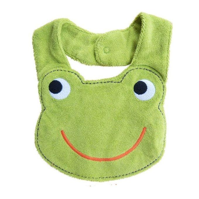 Kids Waterproof Cartoon Lunch Bibs Infant Animal Saliva Towel Bib Frog-As It Shows –  مصر