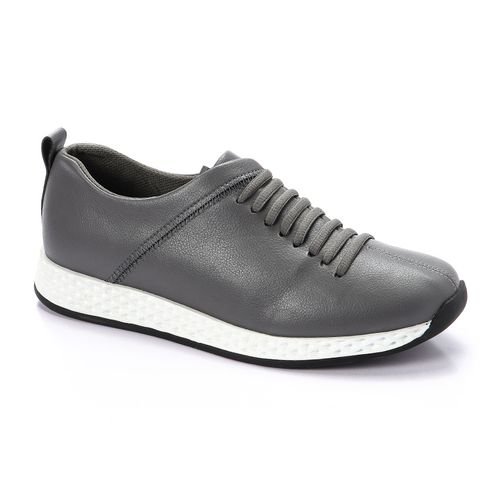 Lace Up Sports Shoes - Grey