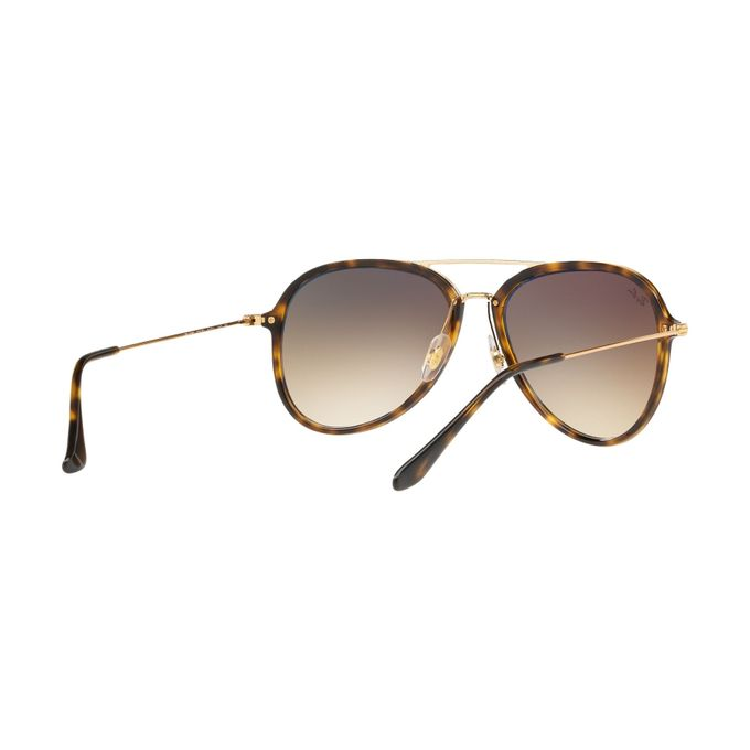 ... Ray-Ban Contemporary Aiator Sunglasses In Brown Gradient RB4298 710 51 7b6960ced0