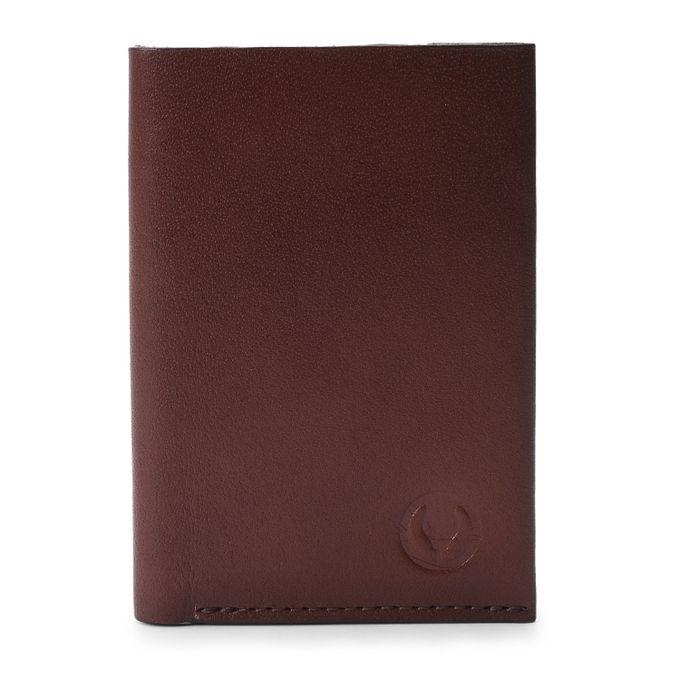 Business Card Wallet Dark Brown One Size