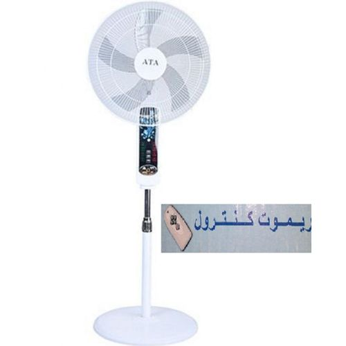 """Stand Fan 18 """" - 5 Brushes with Remote Control"""