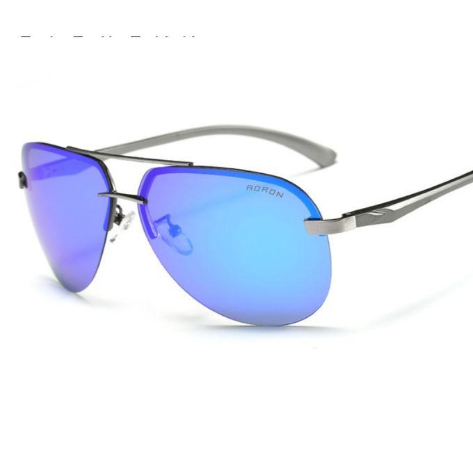 12e9a702ca1b1 نظارات شمسية للرجال بتصميم مربع لون اسود نظارات شمسية باطار اسود ...