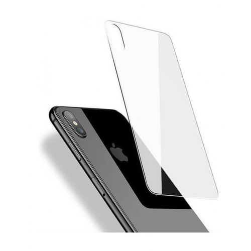 hot sale online 5adfb 3f15f Iphone XS MAX Back Tempered Glass Screen Protector - Clear