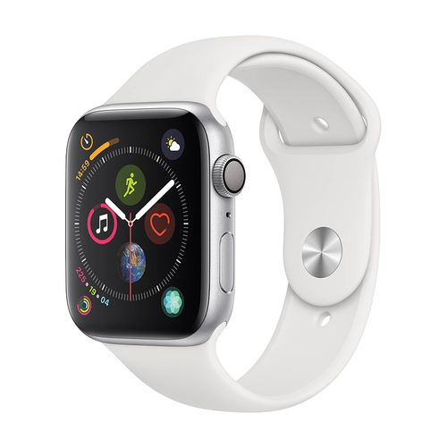 Watch Series 4 - GPS Only - 44mm - Silver Aluminum Case with White Sport Band