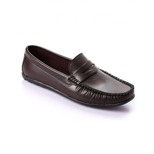 Classic Men Loafers - Brown
