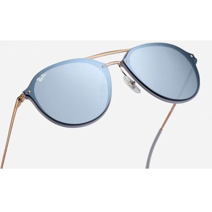 608ffd98afe Sunglasses Ray-Ban Blaze Double Bridge RB4292N 6326 1U 62-14 Violet Large