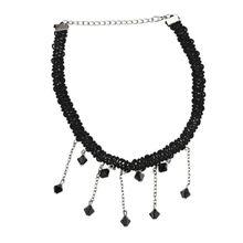 d56e5a606a8 Gothic Girl Velvet Lace Harajuku Chokers Necklace Torques Necklaces Punk  Black