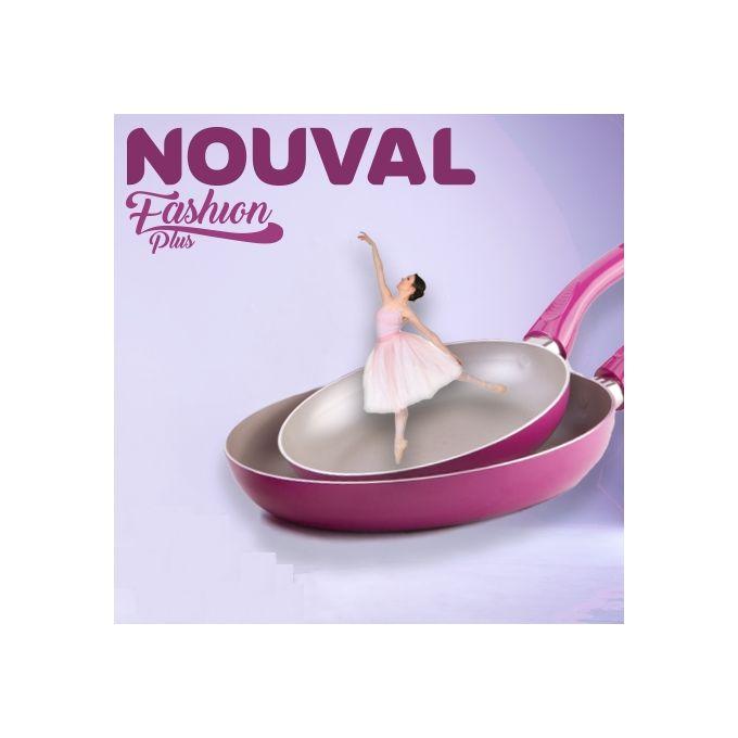 Fashion Plus Ceramic Frying Pan – Fuchsia – 3 Mm –  مصر