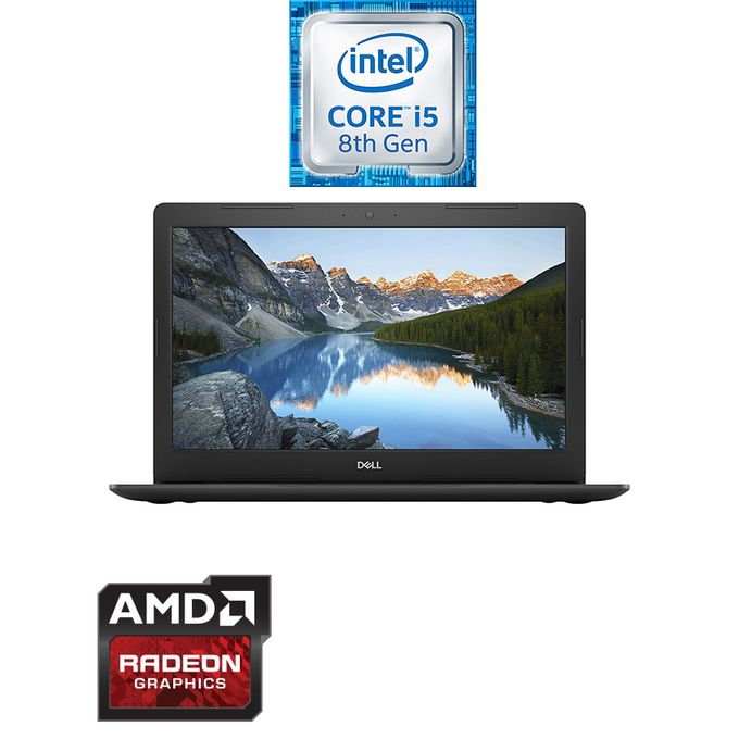 لاب توب انسبيرون 15-5570 - انتل كور i5 - رام 8 جيجا بايت - هارد ديسك درايف 1 تيرا بايت - معالج رسومات 4 جيجا بايت - شاشة FHD 15.6 بوصة - DOS - أسود