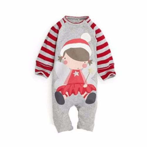 Generic 0 6Month Kids Baby Boy Girl Warm Infant Romper Jumpsuit Bodysuit Hooded Clothes Outfit A4