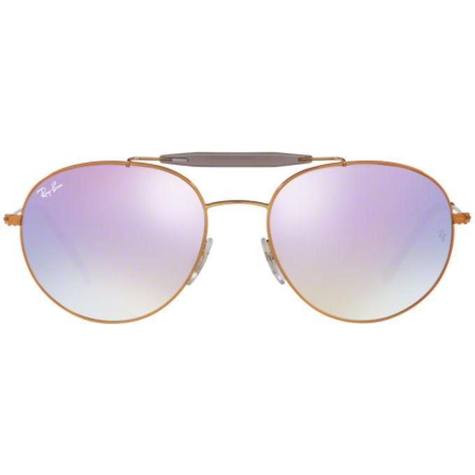 341cd14e7c ... Ray-Ban Copper RB3540 198-7X Shiny Bronze Lilac Gradient Flash ...