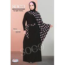 bbcd50eab8fee Women  039 s Hijab Abaya - Black ...