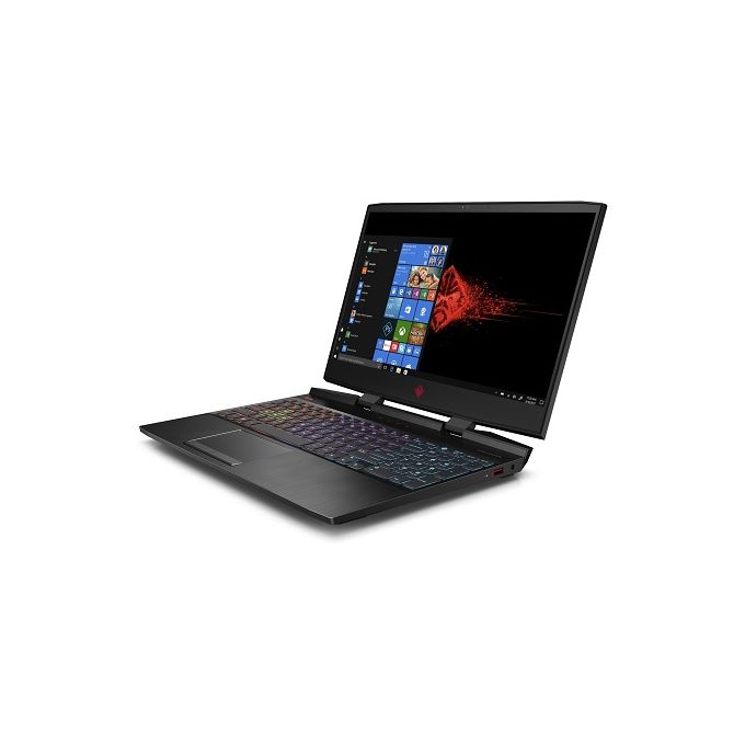 HP Omen 15-dc1002ne Laptop - Intel Core I7-8750H - 16GB RAM - 1TB +256SSD  - NVIDIA GeForce RTX 2060 - Win 10 - Black