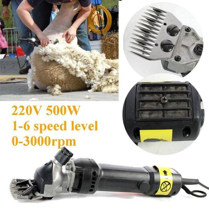 Set Of 4 500W 220V Electric Sheep Shearing For Goats Clipper Shear Alpaca Farm –  مصر