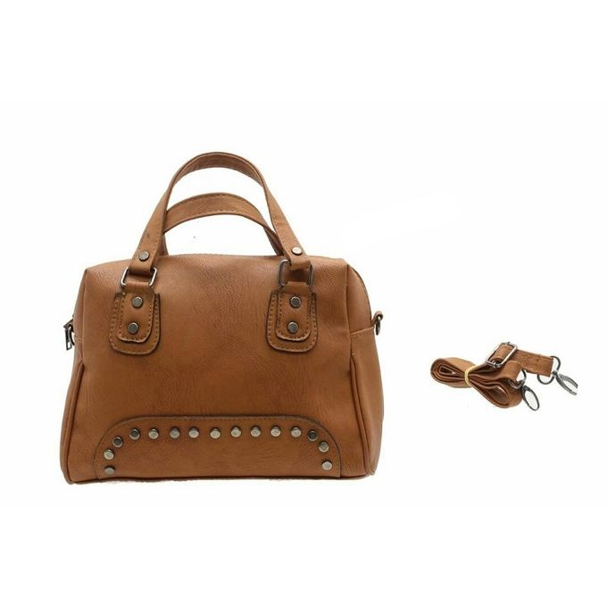 d74f139ec Sale on Leather Crossbody Bag - Camel