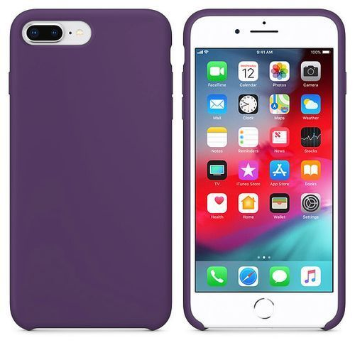 Iphone 7\8 Plus Silicone Case - Purple
