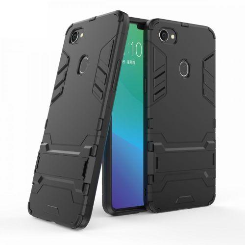 online store 630d3 77393 Oppo F7 Iron Man Case - Black
